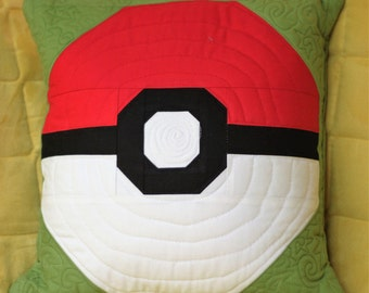 Pokemon Pokeball Quilt Block Pattern