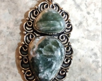 CLEARANCE *Beautiful Seraphinite Necklace