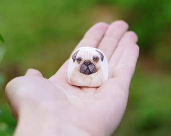 Pug Dog Gifts | Pug Gift | Pets | Miniatures | Gift for Puglover | Dog Portrait Cute Gifts