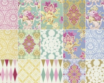 Jennifer Paganelli Nostalgia | Quilt Fabric | Fat Quarters | 15 FQ | FQ Bundles | Quilting Cotton |