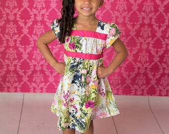 Toddler Easter dress - Girls Easter Outfit - toddler girls Easter outfit - girls clothes for Easter - Easter dress - girls spring dress