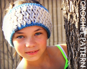 CROCHET HEADBAND PATTERN - Twisted Headband