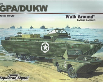 GPA/DUKW - Walk Around  (Paperback)