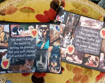 Rescue Me Coin Purse -- Free Shipping