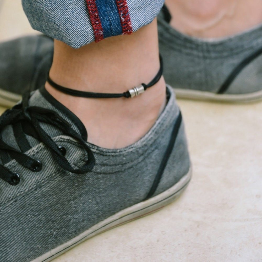 cool hot or not for out guys flat anklet bracelets ankle