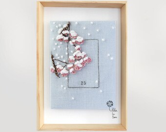 """Embroidery Kit """"Snow"""" - Embroidery Kit """"SNOW"""""""