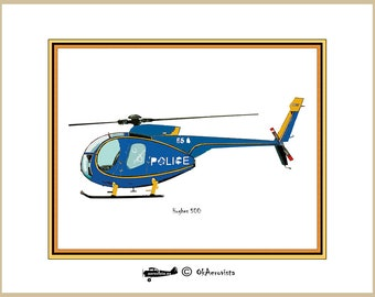 Helicopter graphic design for print, police helicopter, wall decor, decor room decor, nursery wall art, son bedroom decor, 3x2 ratio 4x3