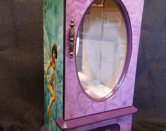Small jewelry box/Violet Fairy