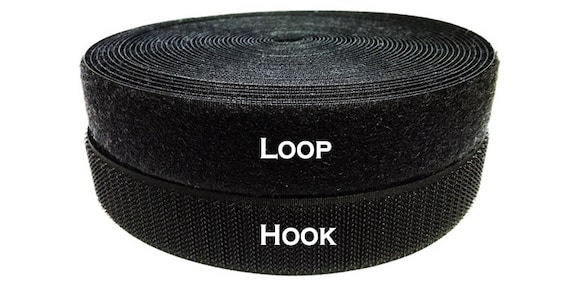 Loop And Hook >> 1 Inch 10 Yds Sew On Hook And Loop Ykk Brand Style Purchase