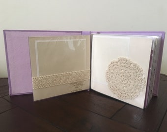 Wedding scrapbook album