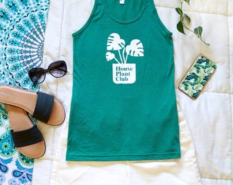 House Plant Club Monstera Tank Top