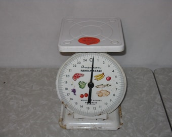 Vintage American Family kitchen scale