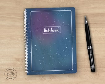 Celestial Spiral Notebook / Journal