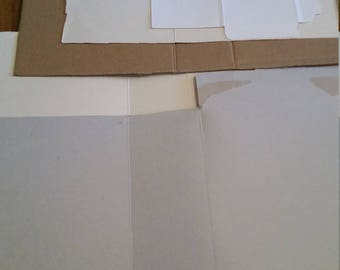 Craft supplies /DIY / Cardboard kit /Junk Journal Covers / Smashbook