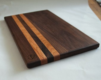 Walnut & Cherry Cutting Board