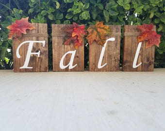 Fall Signs, Wooden Fall Decor, Wooden Fall Signs, Fall Decoration, Fall Decor, Fall Wood Signs, Fall Home Decor, Fall Harvest, Fall Leaves