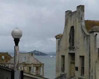 Alcatraz Vintage Print