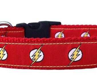 Flash Ribbon Dog Collar