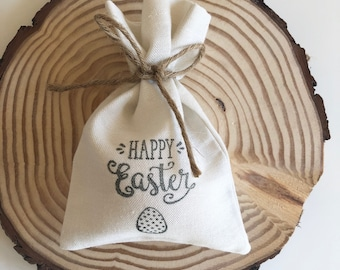 Easter bag, easter egg bag, easter egg hunt bag, easter gifts, canvas bag, bag,
