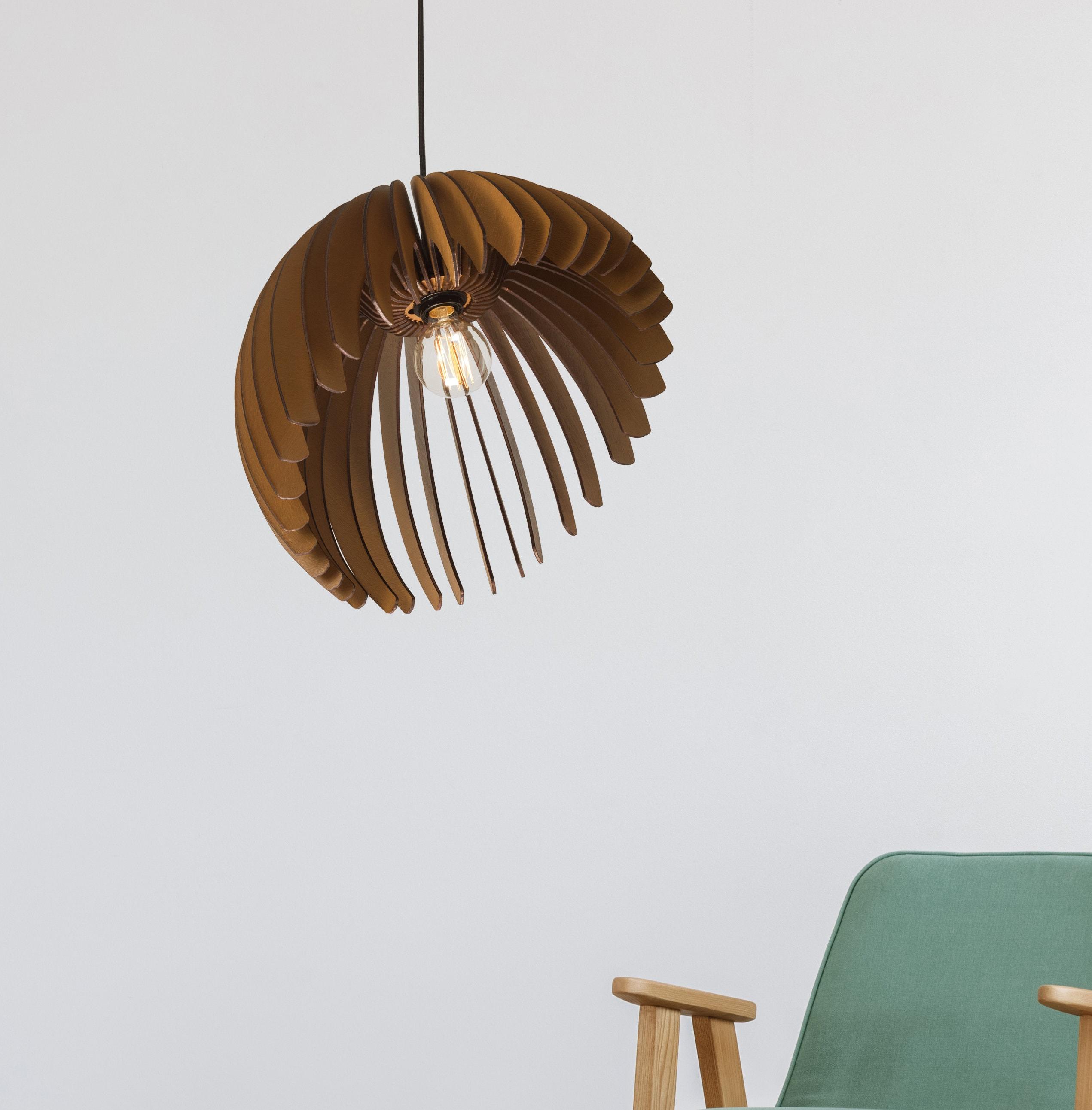 industrial modern lighting. Pendant Light Wood Lamp Ceiling Fixture Dining Industrial Modern Chandelier Hanging Steampunk Wooden E27 Lighting O
