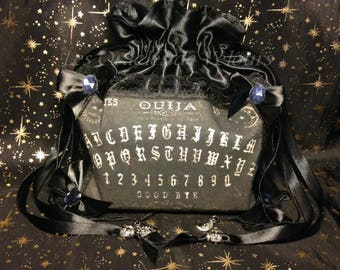 """Great pouch for Oracle and Tarot """"Ouija"""" - Deck Bag - Oracle Bag - Tarot Bag-"""