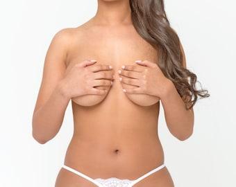 Sexy Pearl Panties - G String Panties - Beads Pearl Panties - Mature