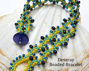 Beadwoven Bracelet, Seed Bead Bracelet, Embellished Bracelet, Beadwoven Cuff Bracelet, Beadwoven, Beaded Bracelet, My Beads 4 You, Beads