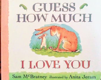 Guess How Much I Love You, first edition board book