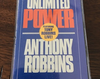 Unlimited Power Anthony Robbins Cassette