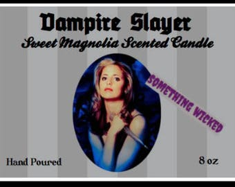 Buffy The Vampire Slayer Inspired Candle