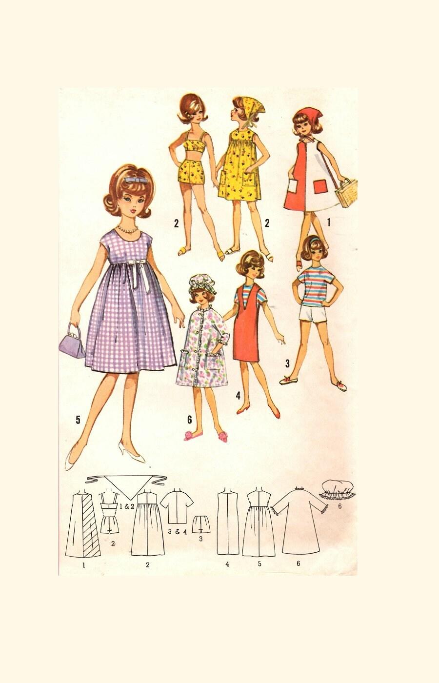 12 Tammy Jan Terry Puppen von Ideal aus den 1960er
