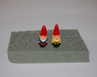Miniature Gnomes Terrarium or Fairy Garden Decorations