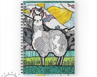 Llama Notebook Llama Journal Llama Gifts For Llama Lovers Llama Cute Llama Gifts Llamas For Llama Owners Llama Work Gift