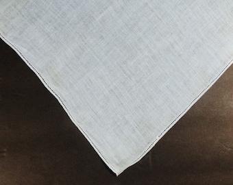 Vintage Blue Handkerchief