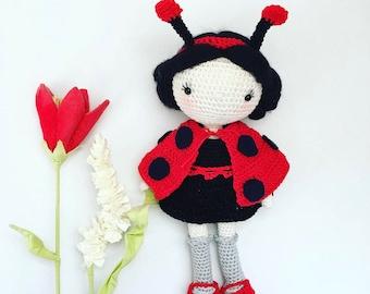 Crochetpattern Lotta - Ladybird