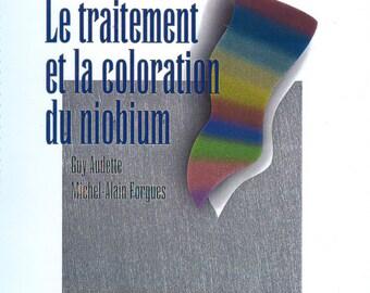 Le traitement et la coloration du niobium french jewelry book