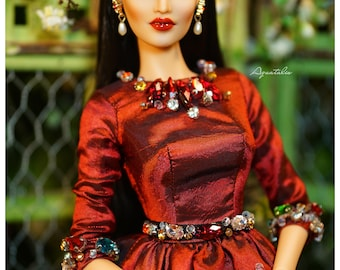 La Dolce Vita - Dress for 16'' Fashion Doll - Limited Edition