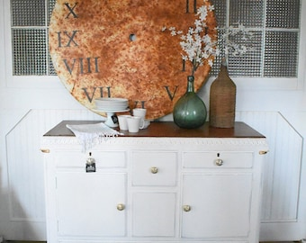Vintage Art Deco style buffet - Hollywood Regency - entry way table