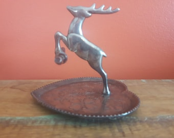 Vintage Deer Ring Holder