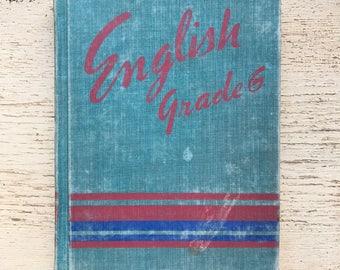 free domestic shipping--English Grade 6 American Book Company 1948