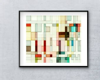 Abstract Watercolor, Abstract Art Print, Watercolor Wall Art, 12x16, 16x20, 18x24, 24x32, Gallery Wall, Abstract Wall Art, Watercolor Art