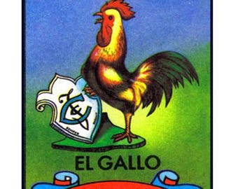 5x7  Mexican Loteria  Card  Images  (54 Seprate Files) - Reg. 9.99 On Sale Now!