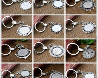 25 mm / 12 Kit door key + 12 cabochons 25 mm within 15 days