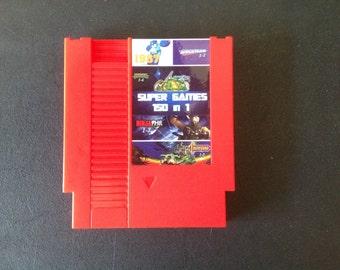 Super Games 150 in 1 Multi Cart for Nintendo NES Classic Retro Video Games