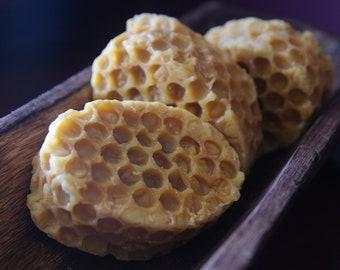 Buttermilk Honey Comb Handmade Soap
