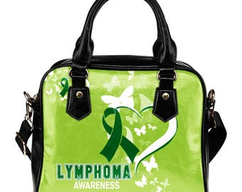 Lymphoma Awareness Shoulder Bag / Handbag