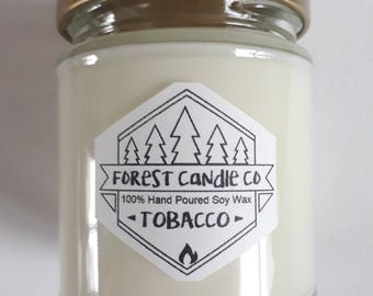 Scented 100% Soy Wax Candle