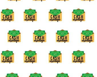 Cash Envelope- Planner Stickers