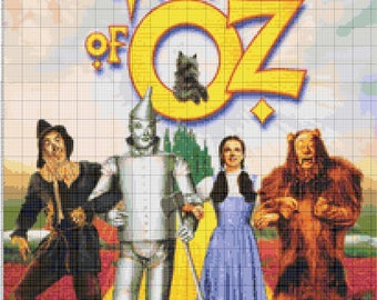BUY 2, GET 1 FREE! Emerald City Wizard of Oz 431 Cross Stitch Pattern Counted Cross Stitch Chart, Pdf Format, Instant Download / 203175