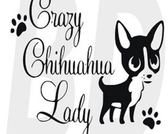 Download Chihuahua silhouette | Etsy